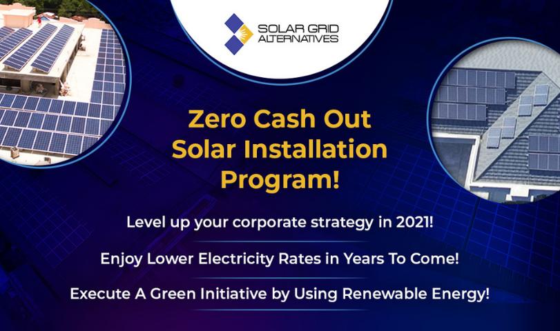 Zero Cash Out Solar Installation Solar Grid Alternatives